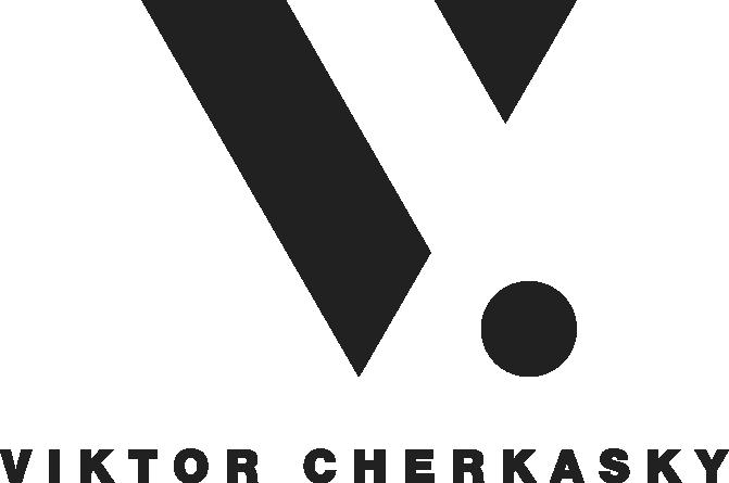 Viktor Cherkasky_logo_black
